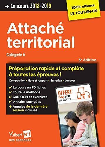 Titre De Livre Concours Attache Territorial Categorie A Preparation Rapide Et Complete A Toutes Les Concours Attache Territorial Concours Attache Concours