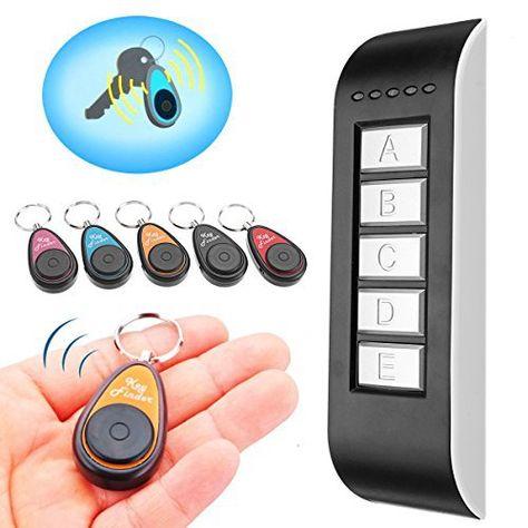 GLISTENY 5 in 1 Wireless Key Finder Schlüsselfinder elektronische...