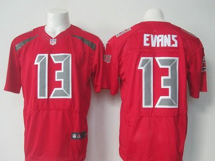 632a5ce6 womens tampa bay buccaneers 13 mike evans red strobe 2015 nfl nike ...