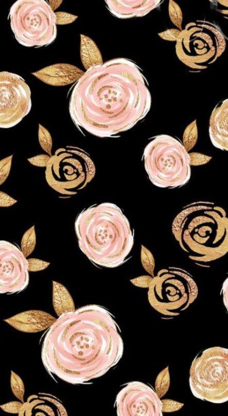 23 Trendy Flowers Background Rose Vintage Flowers Wallpaper Gold Wallpaper Background Rose Gold Wallpaper