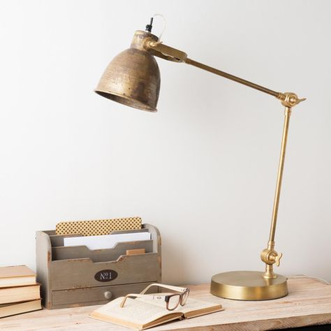 Lampes A Poser Avec Images Lampe De Bureau Bureau Metal