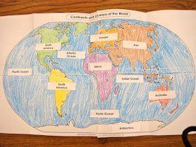 Plano De Aula Meridianos Paralelos E Os Continentes In 2020