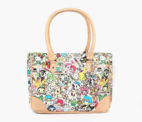 726d27d12 tokidoki x Sanrio Characters Shoulder Tote Bag | Bags | Bags, Tote purse, Hello  kitty