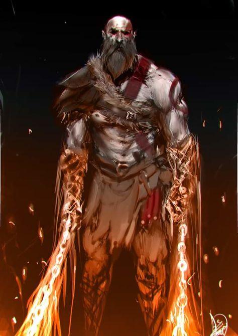 ArtStation - God of war (kratos), Ahmad Shokeir