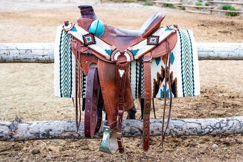 Roping Saddles, Western Horse Saddles, Western Tack, Western Riding, Barrel Racing Tack, Barrel Saddle, Horse Gear, My Horse, Horse Riding