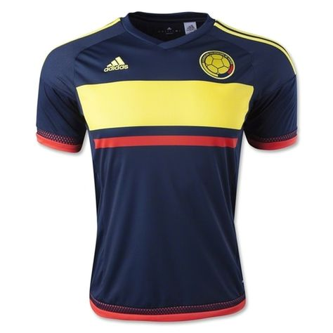 082f305b317 adidas Kids Colombia 15 16 Away Jersey Collegiate Navy Bright Yellow Bright  Red