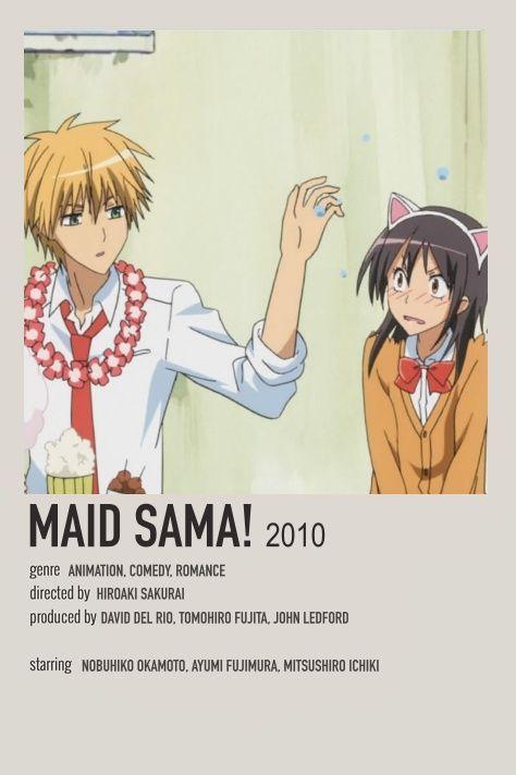 Maid Sama! Minimaist Poster