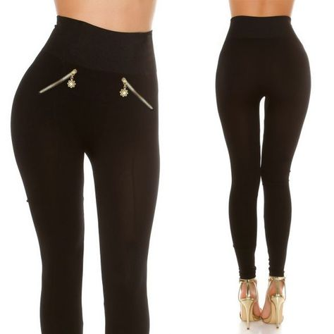 eda13891d2 Alakformáló magasított derekú leggings nadrág