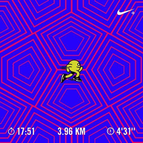 run Ran 3.96 kilometers with Nike...