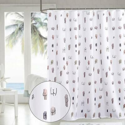 Advertisement Shuyi Spoof Taste Funny Interesting Cartoon Design Shower Curtain Set Waterpr In 2020 Girls Shower Curtain Shower Curtain Sets Designer Shower