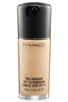 MAC Pro Longwear SPF 10 Foundation- perfect longwearing formula for greasy faces like mine!