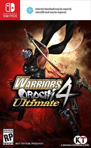 Warriors Orochi 4 Ultimate Ninja Gaiden For Nintendo Switch