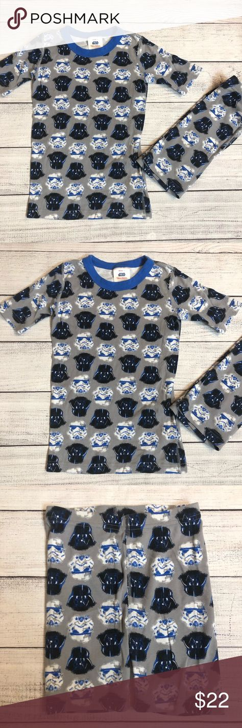 a398a8bb20bb2 Hanna Andersson Star Wars Pajamas Size 130 (8) Hanna Andersson Star Wars  Short John