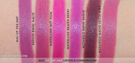 Purples | Mauve color lipstick, Purple