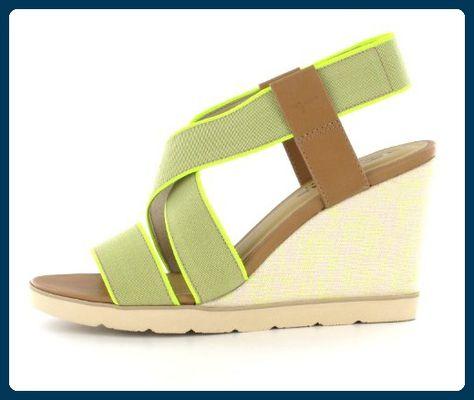 Tamaris Sandalette 1 1 28708 20209, 39,grün,grün Sandalen