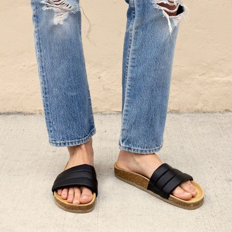 Look out for sliders girl! And I mean, it doesn't get more comfy that that. http://asos.do/T37E0Q