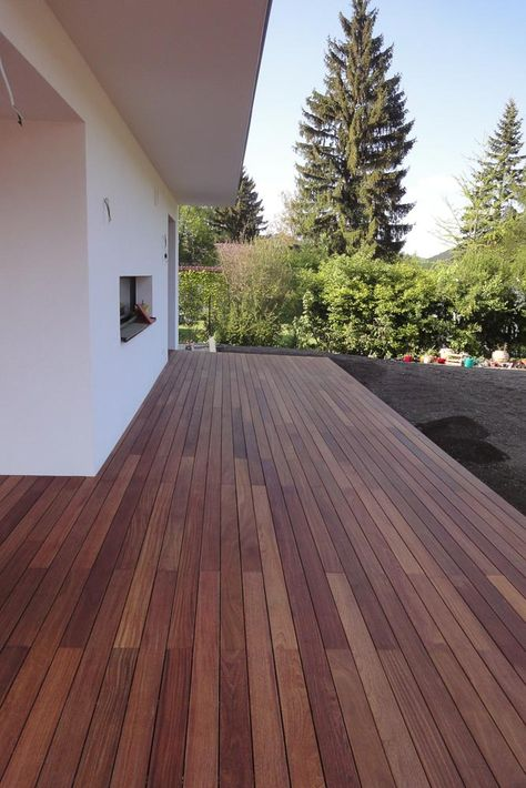 Holzterrasse selber verlegen Terasse Pinterest Holzterrasse