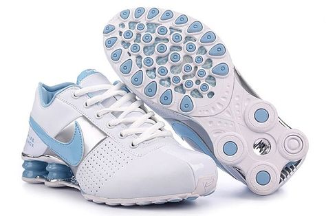 57e496f4b67 Nike Shox Deliver Women Shoes - White Blue Silver The outstanding outlook  of Nike Shox Deliver Women Shoes - White Blue Silver is also attractive and  ...