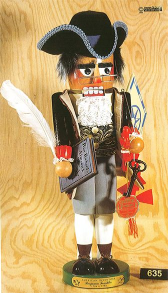 Benjamin Franklin (ES635) Nutcracker