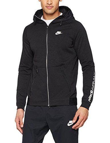 bas prix ac60b dd4c2 Nike Air Max Veste à Capuche M Noir/Blanc | Game of fashion ...