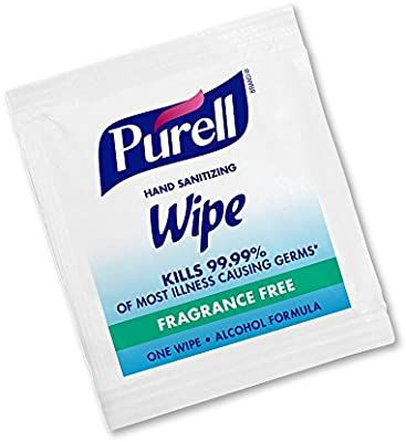 Amazon Com Purell Hand Sanitizing Wipes Alcohol Formula