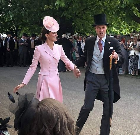Kate Middleton and Prince William Look So in Love in Adorable Photo From Royal Garden Party | Brides