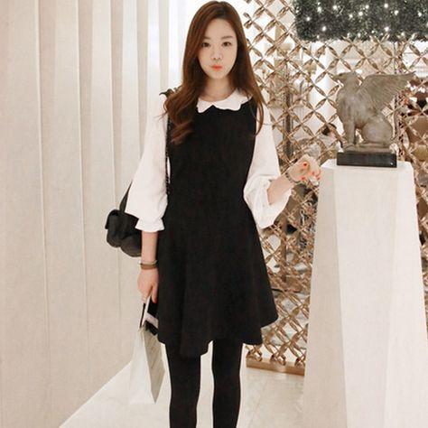 aa37cb54193 Korean sweet strap dress two-piece · Sanrense · Online Store Powered by  Storenvy