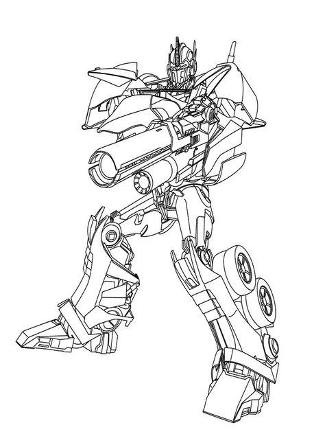 20 Desenhos Dos Transformers Para Colorir E Imprimir Desenhos