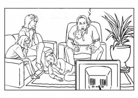 Dibujos Dia Mundial Sin Tabaco Para Colorear 15 Male Sketch Male Art