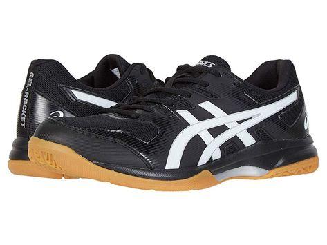 ASICS GEL Rocket(r) 9 Men's Volleyball Shoes BlackWhite