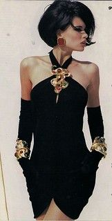 Daniela in Chanel for Vogue US 1990 by Patrick Demarchelier