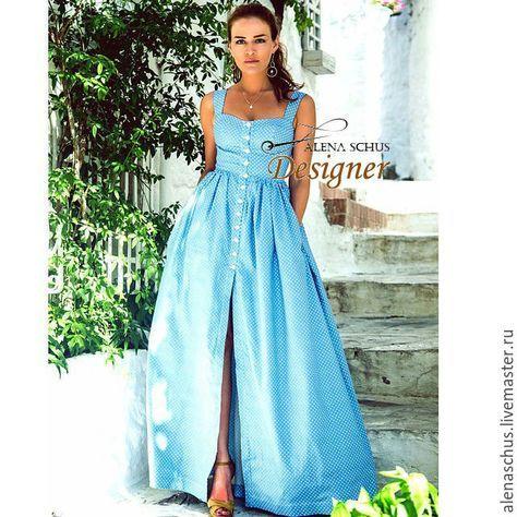 bedd0c782f5 Купить Платье сарафан длинное в пол в интернет магазине на Ярмарке Мастеров