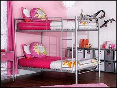 Shared Bedrooms Ideas Decorating Shared Bedrooms Siblings Sharing Bedroom Shared Spaces Boy And Girl Shared Room Shared Kids Room Decorating Metal Bunk Beds Cool Bunk Beds