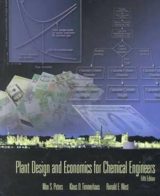 Plant Design And Economics For Chemical Engineers Peters And Timmerhaus Free Pdf Download Plant Design Engineering Chemical Engineering