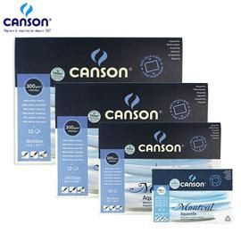 Canson Montval Aquarelle Watercolor Paper 300g 12 Sheets France