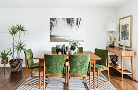 Image Result For Mid Century Modern Tropical Tropical Living Room Dining Room Design Green Dining Room