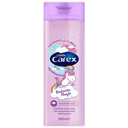 Carex Fun Edition Shower Gel 500ml Unicorn Magic Shower Gel