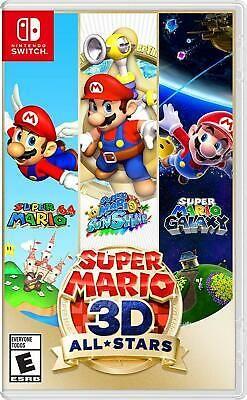 Super Mario 3d All Stars Nintendo Switch In 2021 Nintendo Switch Super Mario Super Mario 3d Super Mario All Stars