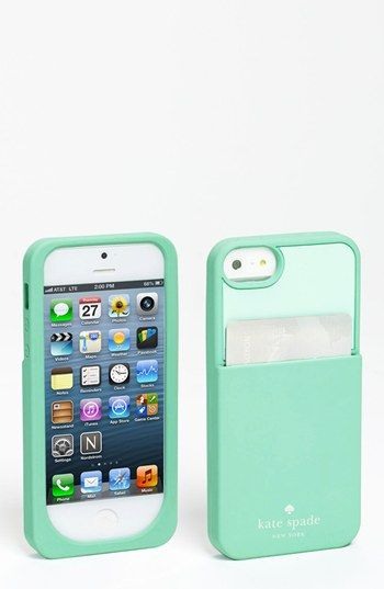 lowest price b14b6 2d3d3 kate spade new york 'color block' cardholder iPhone 5 case available ...