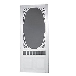 Definitely Want An Old Fashioned Cottage Country Screen Door In My Next House Like This One Fro Vinyl Screen Doors Decorative Screen Doors Vintage Screen Doors