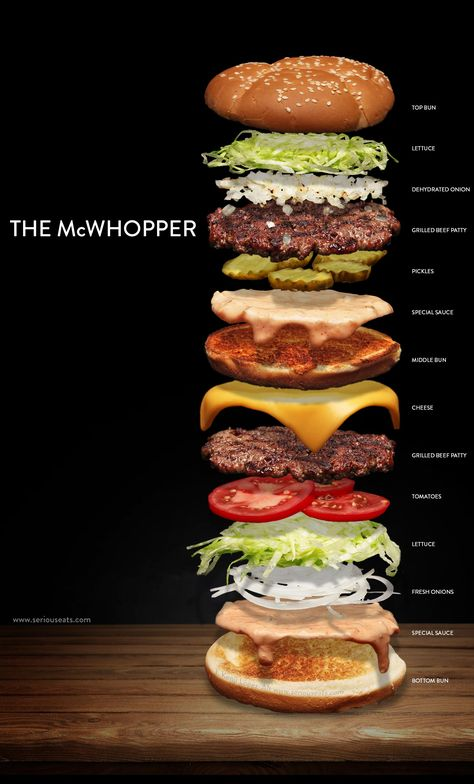 Best All About Burgers Images On Pinterest Beverage Awesome - Two guys transform big mac beautiful gourmet meal