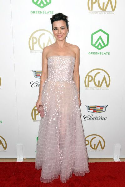 Linda Cardellini attends the 30th annual Producers Guild Awards at The Beverly Hilton Hotel.