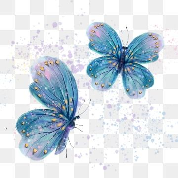 Blue Watercolor Butterfly Wings Hand Painted Butterfly Hand Painted Wing Png Transparent Clipart Image And Psd File For Free Download Butterfly Watercolor Butterfly Illustration Cartoon Flowers