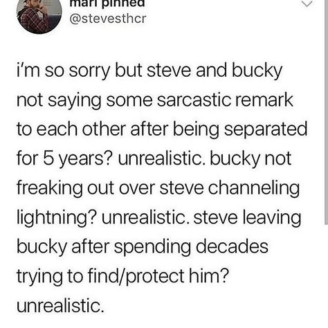 I would have liked to see Bucky's reaction to Steve channeling lightning.