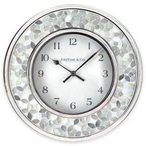 Firstime Arabesque Mosaic Wall Clock Multi Mosaic Wall Wall Clock Clock Wall Decor