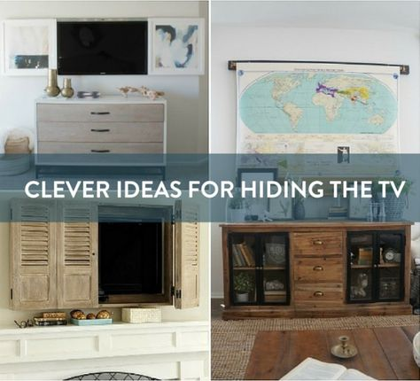 Hide Your Wall Mounted Televisions By Using Framed Art Furniture Media Storage And More Eye Candy