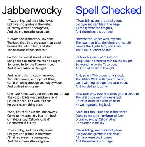 Jabberwocky Poem Jabberwocky Lewis Carroll Jabberwocky Poem