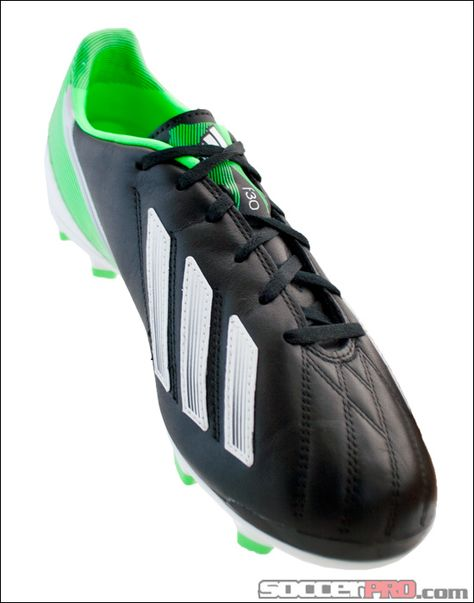 adidas F30 TRX FG Soccer Cleats Leather Black with White