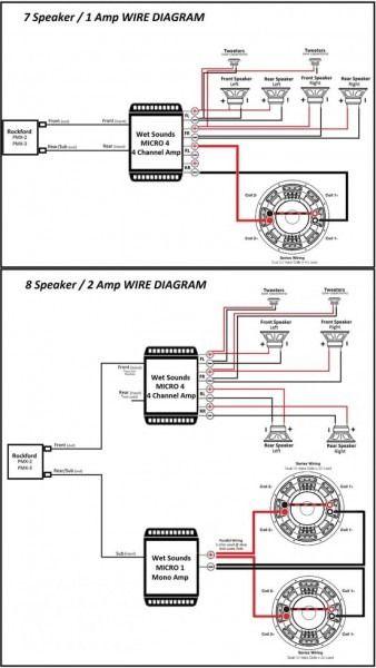 Rockford Wiring Diagram In 2020 Rockford Fosgate Rockford Diagram