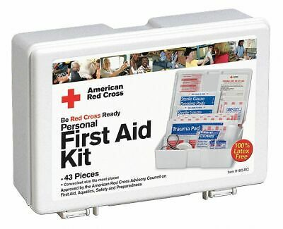 Details About American Red Cross First Aid Kit Kit Plastic Case Material Industrial 10 In 2020 First Aid Kit American Red Cross Red Cross First Aid
